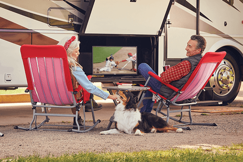 Watch DISH TV Outdoors in the RV- BLAIRSVILLE, GA - Experienced Satellite Professionals - DISH Authorized Retailer